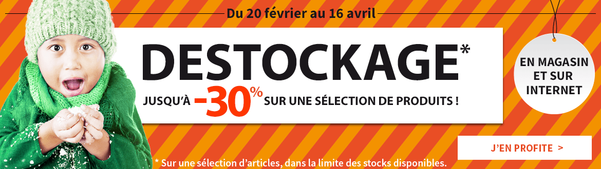 Destockage printemps