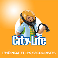 Playmobil City Life L'hôpital et les Secouristes